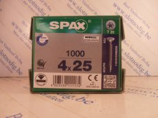 Spax T-star plus 4x25 mm/ st Wirox