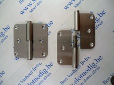 Paumel 80x80 mm Inox Links